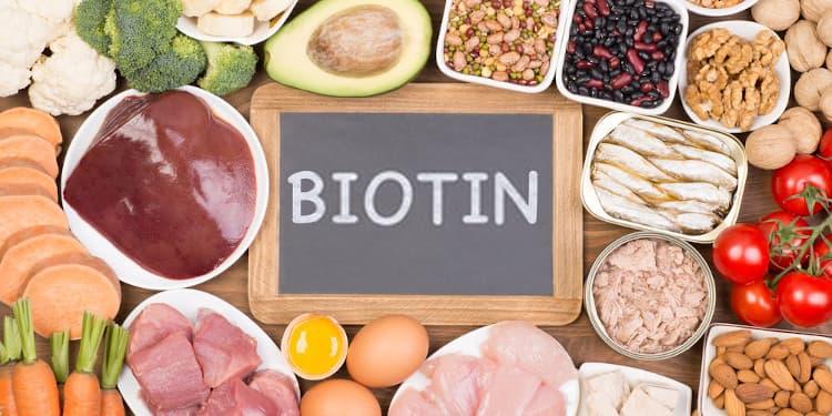 عدة أطعمة تحتوي على البيوتين